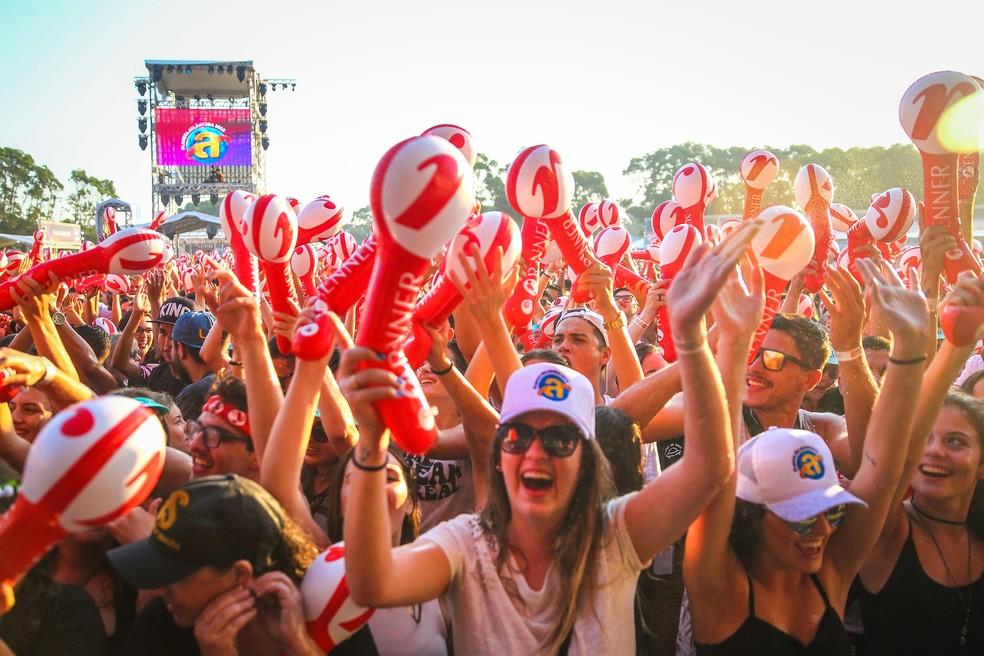 Planeta Atlântida reuniu cerca de 74 mil pessoas em dois dias (Foto: Felipe Nogs / Agência Preview )