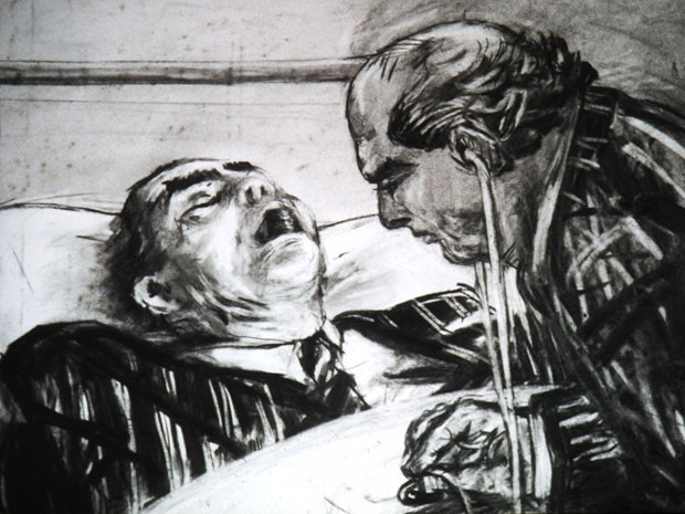 <em>Frame do filme History of the Main Complaint (from Drawings for Projection)</em>, 1996
