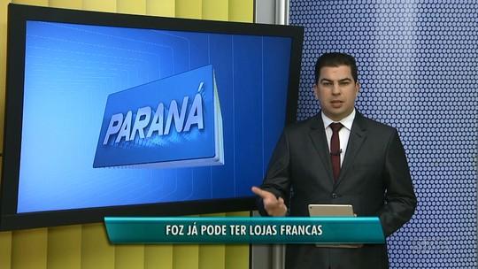 Prefeitura publica decreto que autoriza criação de lojas francas em Foz do Iguaçu