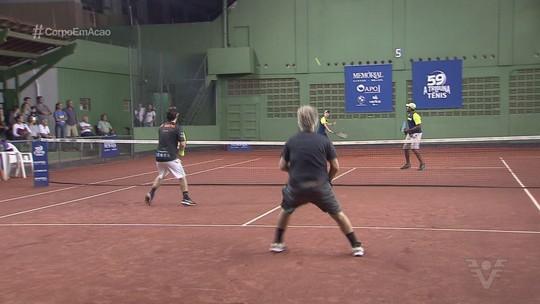 Chega ao fim o 59º Torneio A Tribuna de Tênis