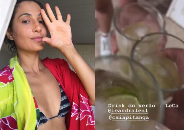 Leandra Leal e Camila Pitanga (Foto: Reprodução/Instagram)