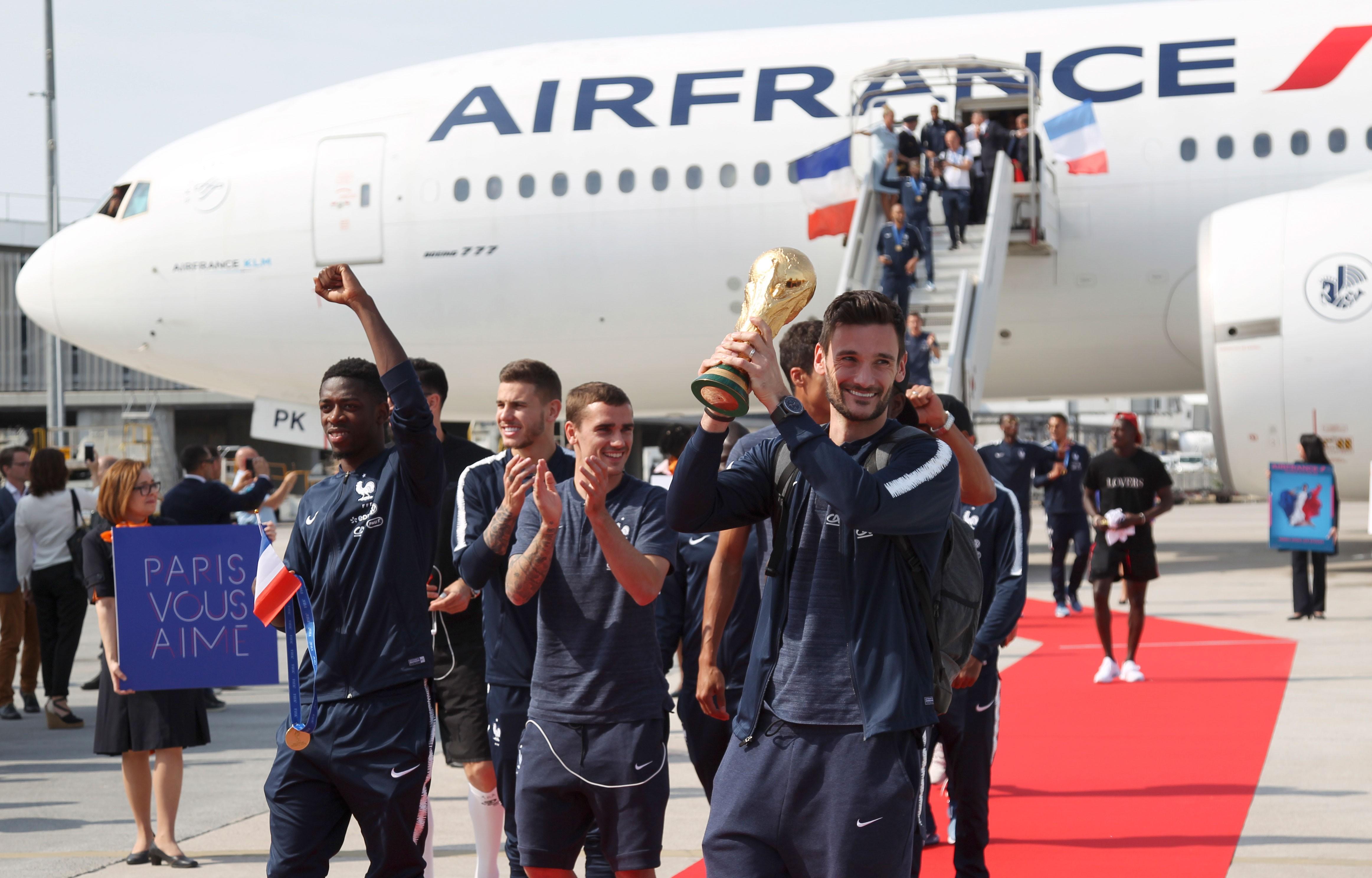Jogadores da seleção francesa de futebol serão condecorados com a Legião de Honra