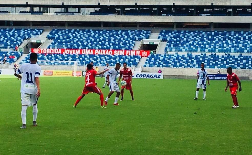 Dom Bosco enfrentou o União Rondonópolis pela Copa FMF (Foto: Derik Bueno/Divulgação)