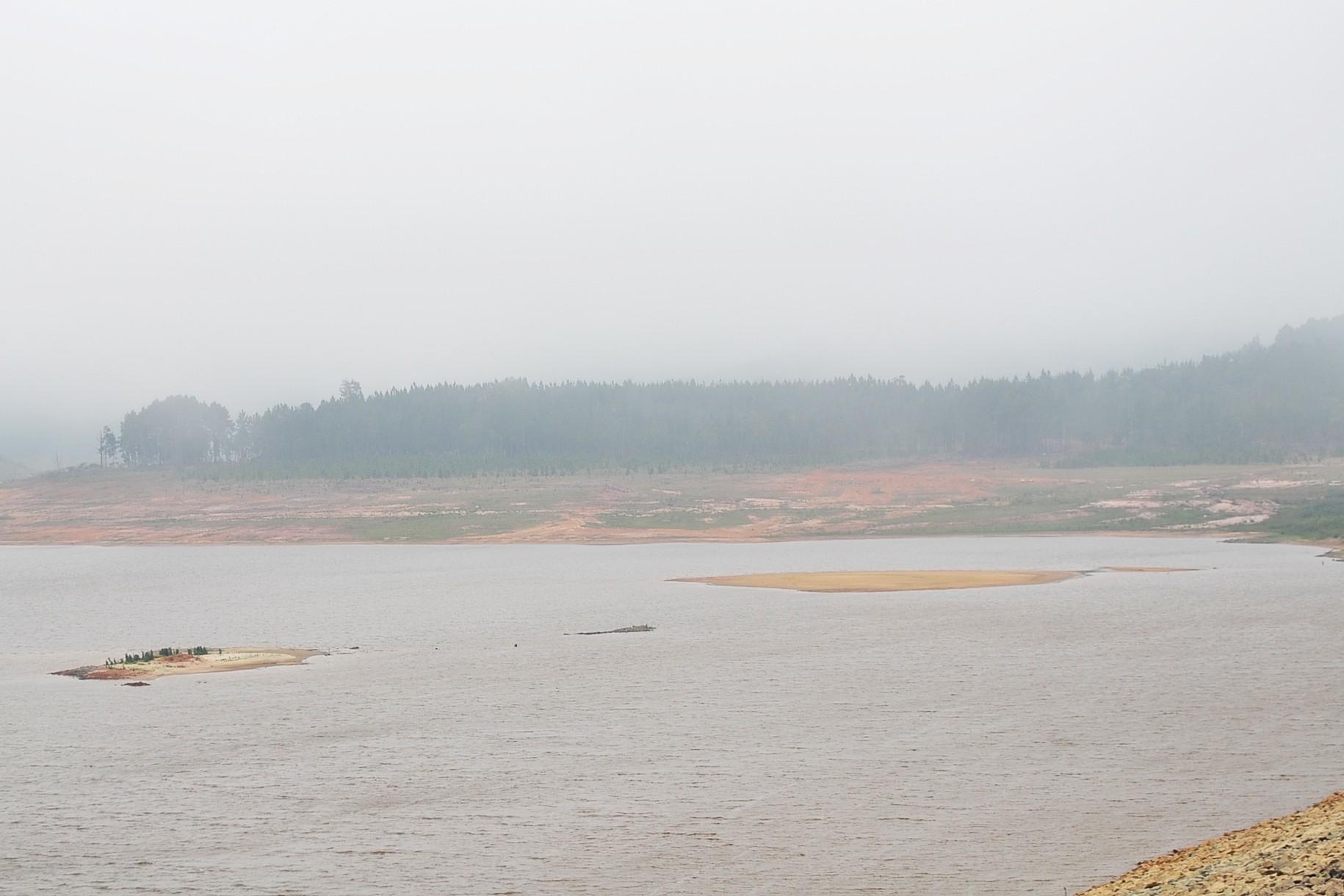 Nível de chuva no Sistema Alto Tietê fica 65% abaixo do esperado pela Sabesp para 2018
