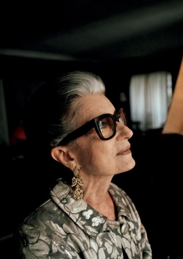 A dona do tempo (Foto: Helm Silva)