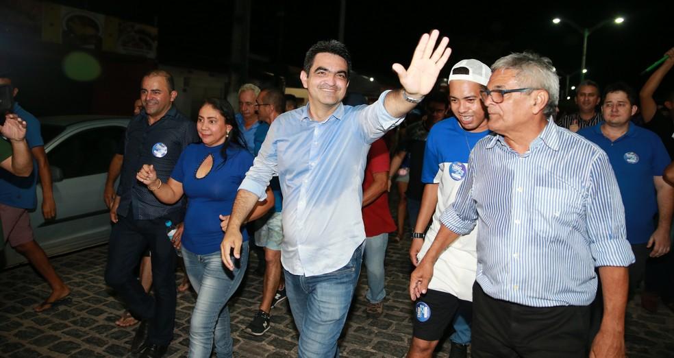 Tiago Ribeiro é eleito prefeito de Cascavel, no Ceará — Foto: Kid Júnior/ SVM