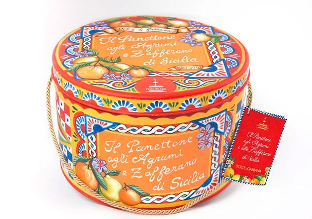 Panetone Dolce & Gabbana (Foto: Divulgação)