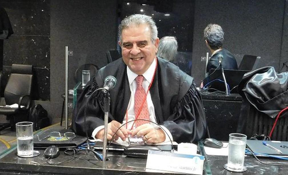 Desembargador José da Fonseca Martins Junior — Foto: Reprodução