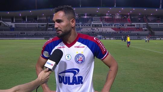 Questionado sobre vaga na Libertadores, Gilberto diz que Bahia tem que lutar até o final no Brasileirão