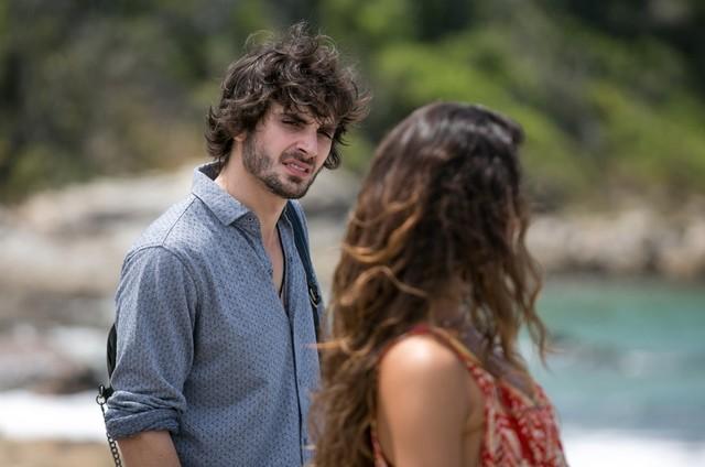 Fiuk e Isis Valverde como Ruy e Ritinha em 'A força do querer' (Foto: Reprodução)