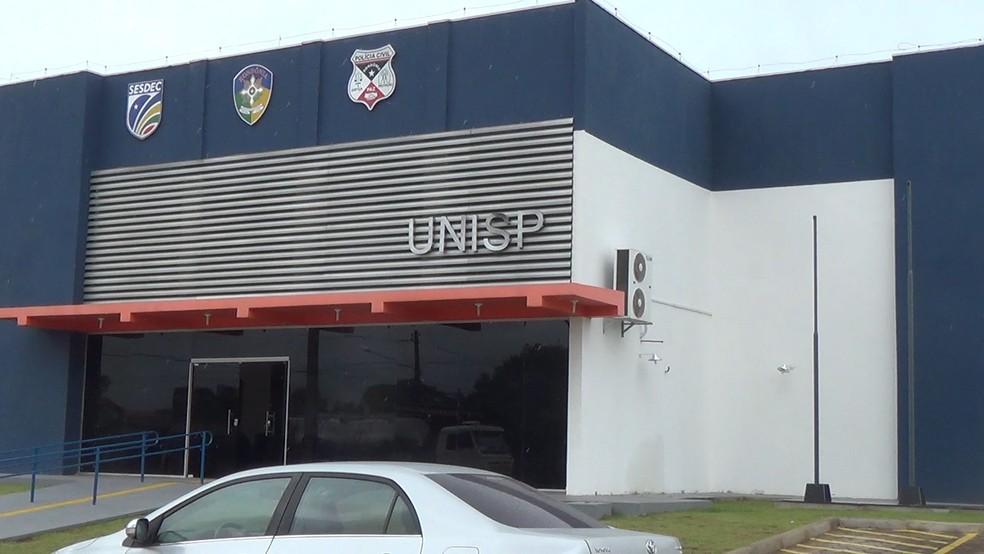 Caso foi registrado na Unisp de Jaru, RO (Foto: Rinaldo Moreira/Rede Amazônica)