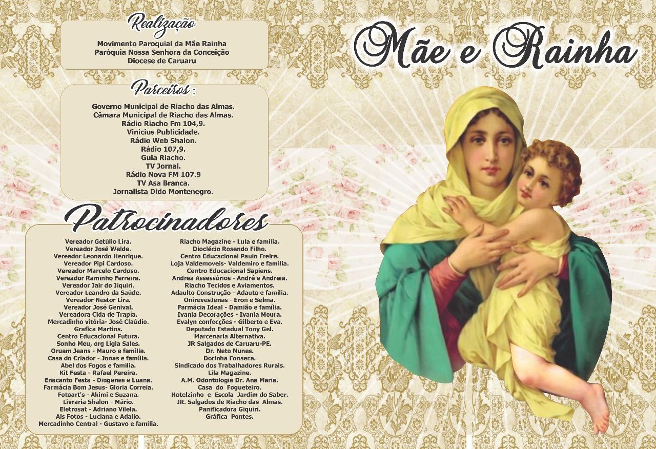 27ª edição da Festa de Mãe Rainha é realizada em Riacho das Almas - Notícias - Plantão Diário