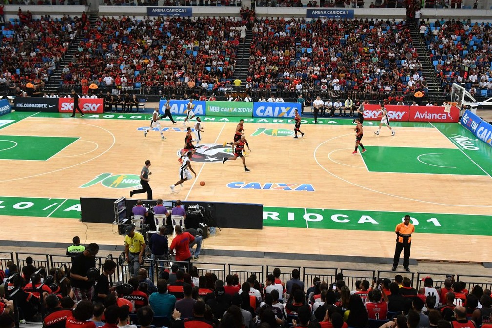 Atuando na Arena Carioca 1, o Flamengo melhorou sua média de público (Foto: LNB)
