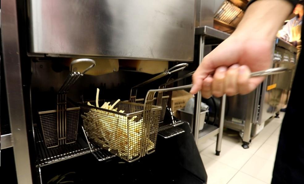 Batatinha do McDonald's (Foto: Fábio Tito/G1)