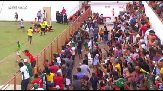 Parauapebas bate Carajás e Itupiranga surpreende Cametá nos jogos de ida da semifinal