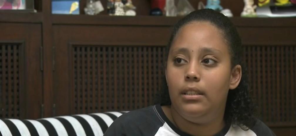 Letícia Mello teve alta do hospital nesta quinta-feira (14) — Foto: TV Globo