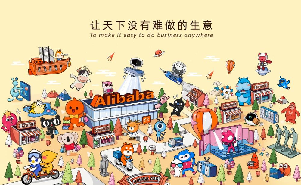 Sétima maior empresa do Mundo, Alibaba Group possui empresas que gerenciam e controlam todos os seus processos — Foto: Reprodução/Alibaba Group