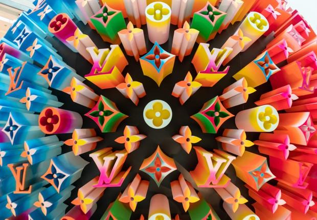 louis vuitton, colorful ball, logo (Foto: VCG/Getty Images)