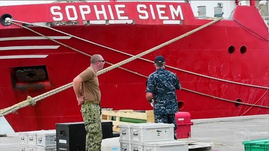 Buscas por submarino argentino prosseguem sem trégua no Atlântico