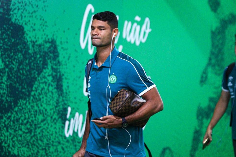 Gum jogou na Chape em 2019 — Foto: Márcio Cunha/Chapecoense