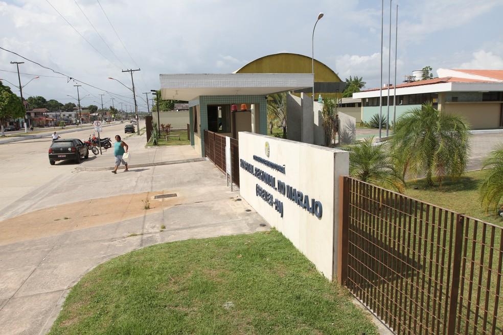 Hospital Regional, em Breves, possui 4 leitos de UTI para atender o Marajó. — Foto: Cristino Martins / O Liberal