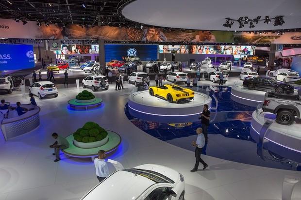 Salão do Automóvel de São Paulo (Foto: Marcos Camargo/Autoesporte)