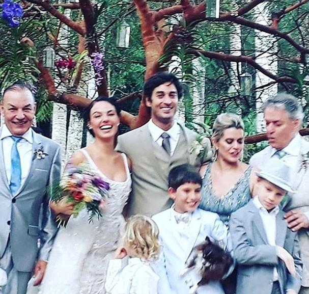 Isis Valverde se casa com André Resende (Foto: Instagram/Reprodução)