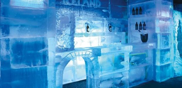O bar Iceland é feito 100% de gelo (Foto: Iceland/ Reprodução)