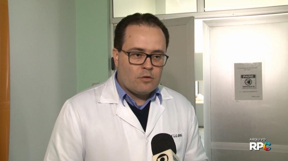 Michel Abraão foi encontrado morto dentro de um hospital de Paranavaí neste sábado (10) (Foto: Reprodução RPC)