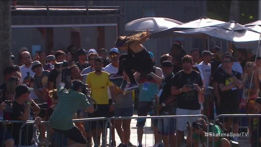 Letícia Bufoni e Kelvin Hoefler são os grandes campeões do STU Open no Rio na modalidade street