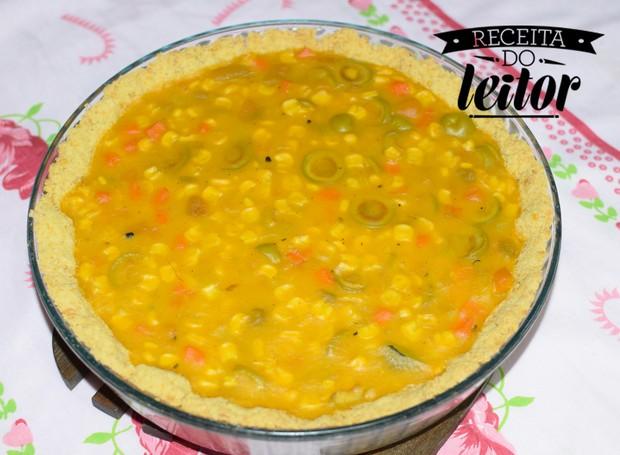 Torta de legumes vegana sem glúten (Foto: Divulgação)