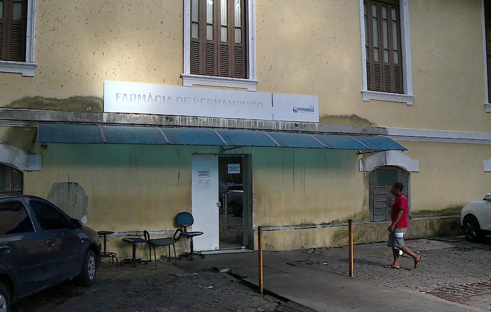 Farmácia de Pernambuco tem desabastecimento de 60%, segundo levantamento apresentado pelo TCE-PE — Foto: Anderson Morais/TV Globo