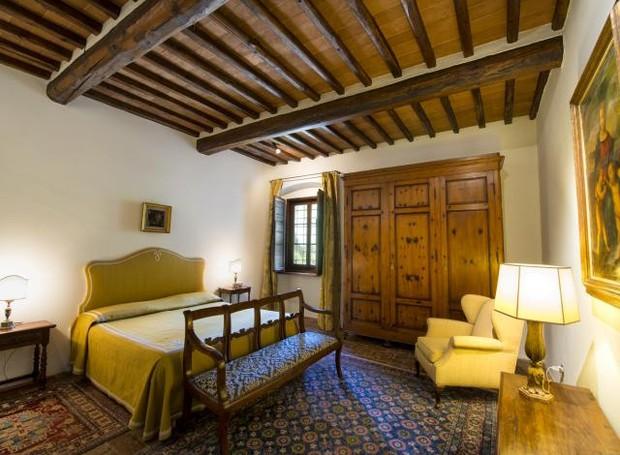 Casa onde viveu Michelangelo tem 10 quartos e 7 banheiros (Foto: Reprodução)
