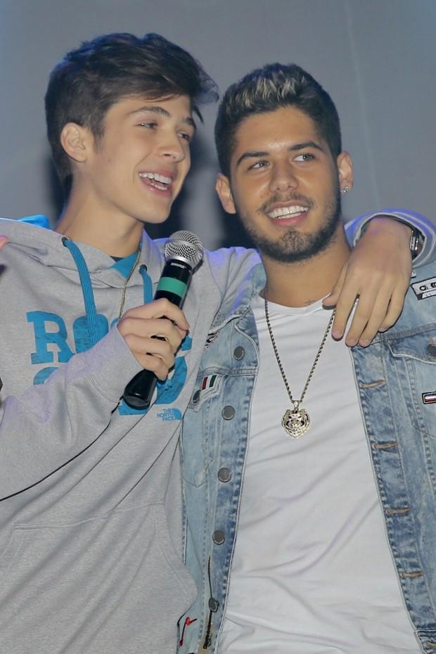 João Guilherme e Zé Felipe (Foto: Manuela Scarpa/Brazil News)