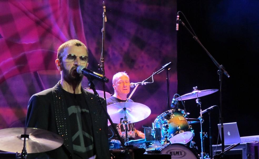Ringo e sua All Starr Band se apresentaram no Centro de Convenções de Brasília em 2016 (Foto: Jamila Tavares /G1)