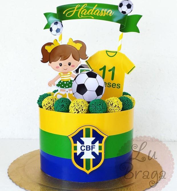 Bolos da Copa (Foto: Reprodução Instagram / Lu braga Bolos Decorados)