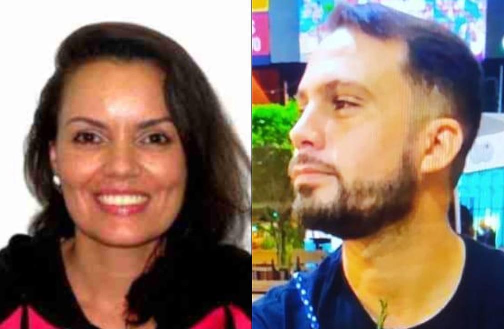 Priscilla e Leonardo foram presos nesta terça (16) — Foto: Reprodução/TV Globo