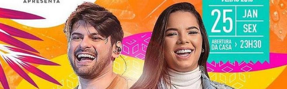 Pedrinho Pegação e Maria Clara — Foto: Divulgação