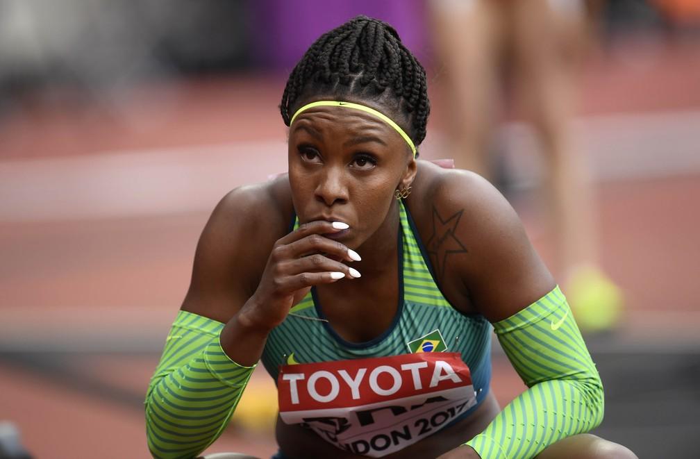 Revezamento Feminino - Brasil vai à final do 4x100m feminino em Londres (Foto: Reuters)