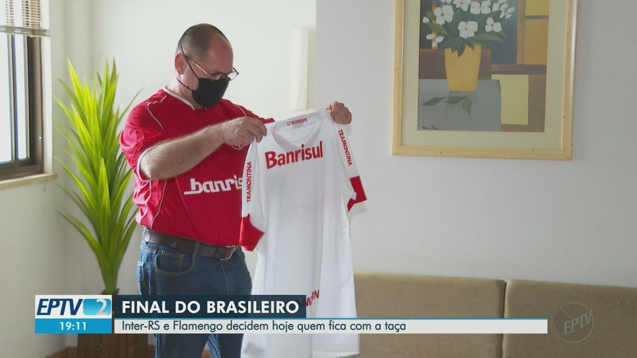 Torcedores de Inter-RS e Fla vivem expectativa da final do Campeonato Brasileiro