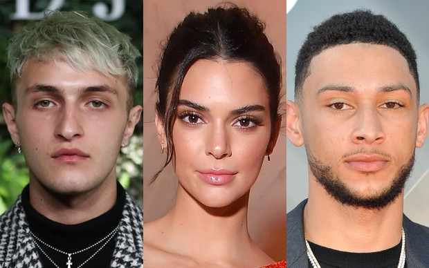 Anwar Hadid, Kendall Jenner e Ben Simmons (Foto: Getty Images)
