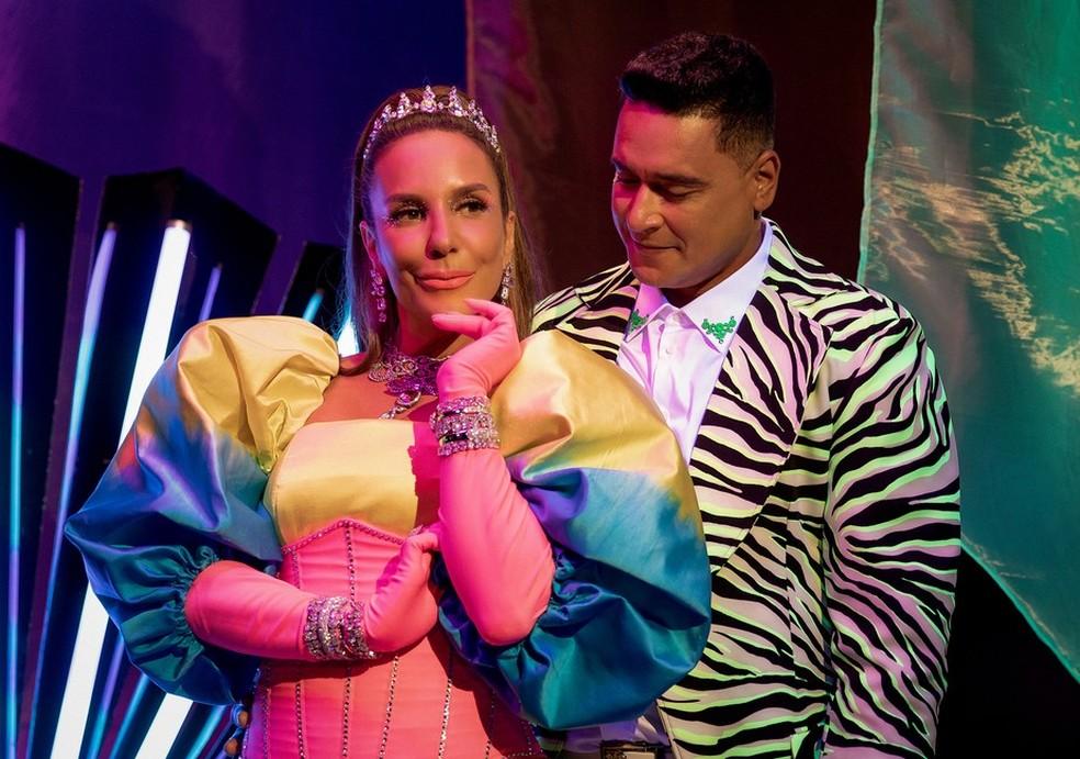 Ivete Sangalo e Xanddy, do Harmonia do Samba — Foto: Divulgação