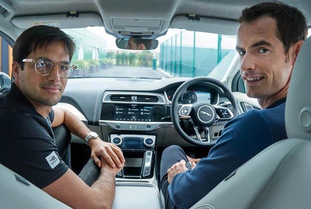 Nelson Piquet Jr e Andy Murray (Foto: Divulgação)