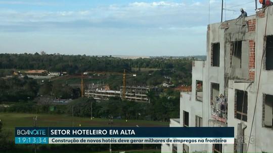 Com novos hotéis, número de leitos em Foz do Iguaçu vai passar de 27,5 mil para 32 mil