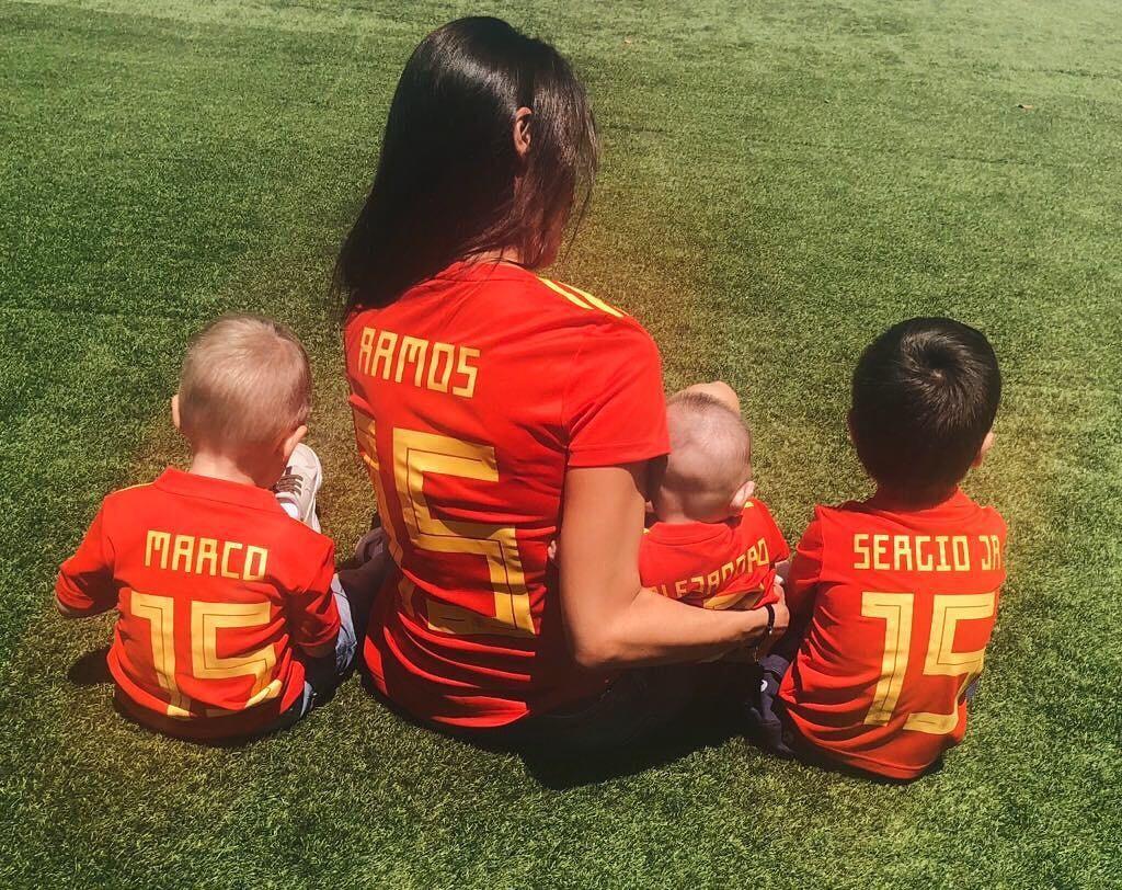 Pilar Rubio e filhos (Foto: Reprodução / Instagram)
