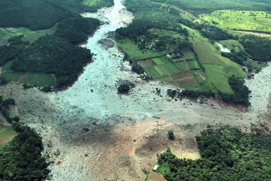 Tragédia em Brumadinho  (Foto: Presidência da República/Divulgação)