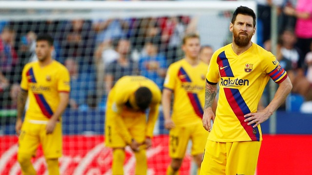 Messi lamenta derrota do Barcelona