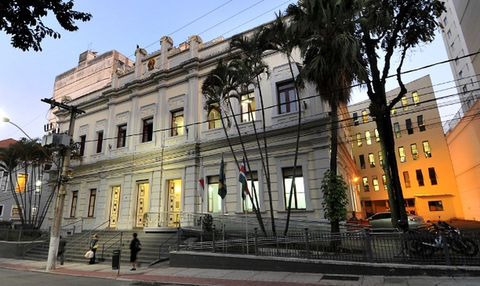 Sede da Câmara Municipal de Juiz de Fora — Foto: Câmara Municipal de Juiz de Fora/Divulgação