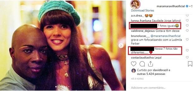 Mara Maravilha e Jorge Lafond (Foto: Reprodução/Instagram)