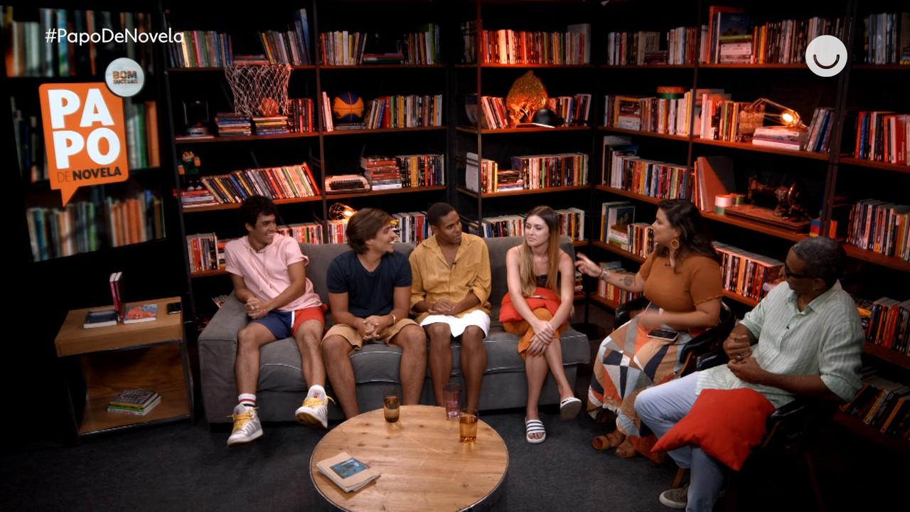 Papo de Novela #18: Nathalia Altenbernd, Igor Fernandez, Jorge Lucas, Ícaro Amado e David Reis